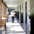 AMANSARA HOTEL IN SIEM REAP, CAMBODIA.