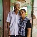 Avec son mari, madame DIN garde un souvenir terrifiant de la dernière grande tempête de 2005, qui a submergé leur maison.