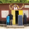 L'équipe technique : de gauche à droite, Oumar Badiane, Moïse Diedhiou, Abdul Laye, Moboutou Diedhou, Aliou Diedhiou, et Bourama Badji, président du Comité de gestion. Casamance, Sénégal.
