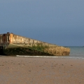 Plages et sites du débarquement du 6 juin 44 en Normandie.